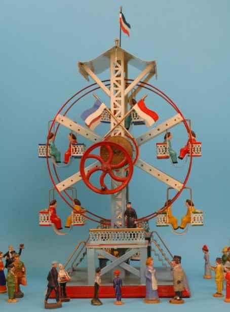 doll 729/3 steam toy drive model steam-driven ferris wheel