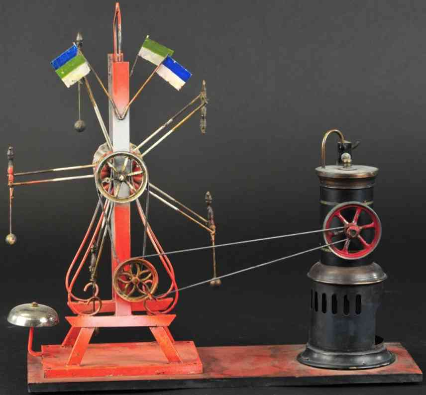 doll antriebsmodell riesenrad  glocke vertikaler dampfmaschine