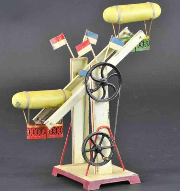 doll dampfspielzeug antriebsmodell zeppelin-karussel