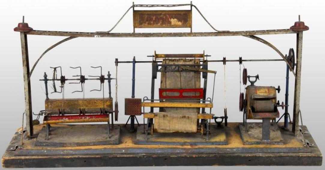 doll dampfspielzeug antriebsmodell kleidungsfabrik