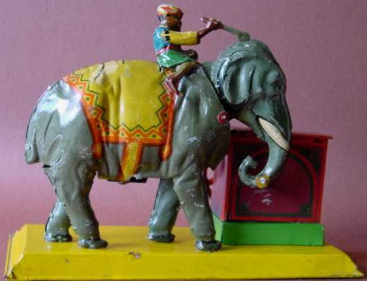 eberl hans drive model indian with elephant