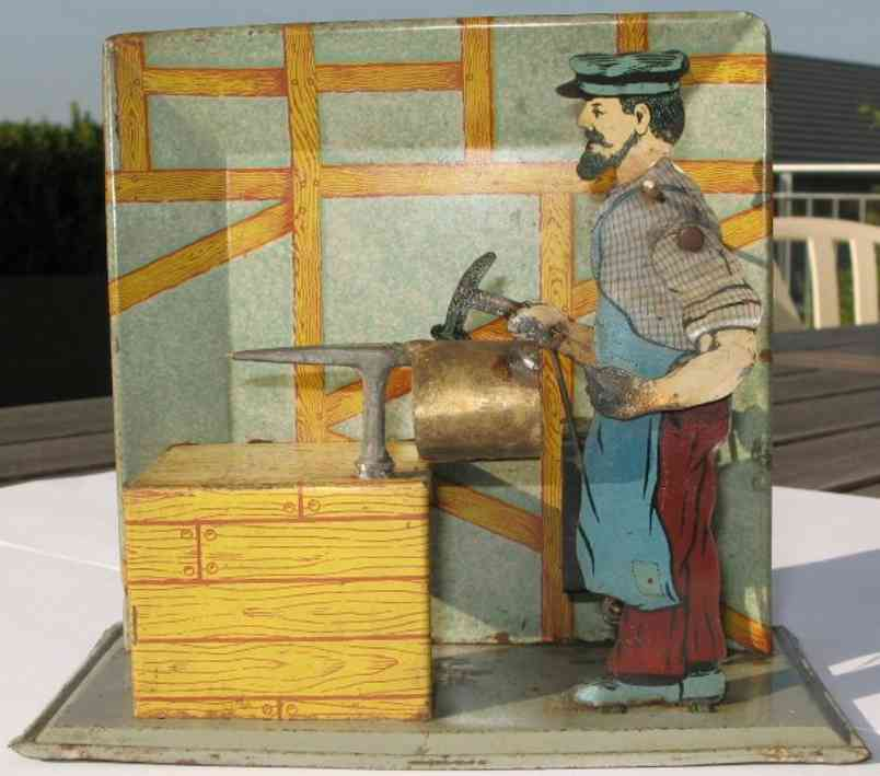 falk 286/63 dampfspielzeug antriebsmodell klempnerwerkstatt