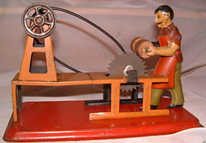 falk 299/13 dampfspielzeug antriebsmodell mann mit säge, gibt es ähnlich von arnold geben
