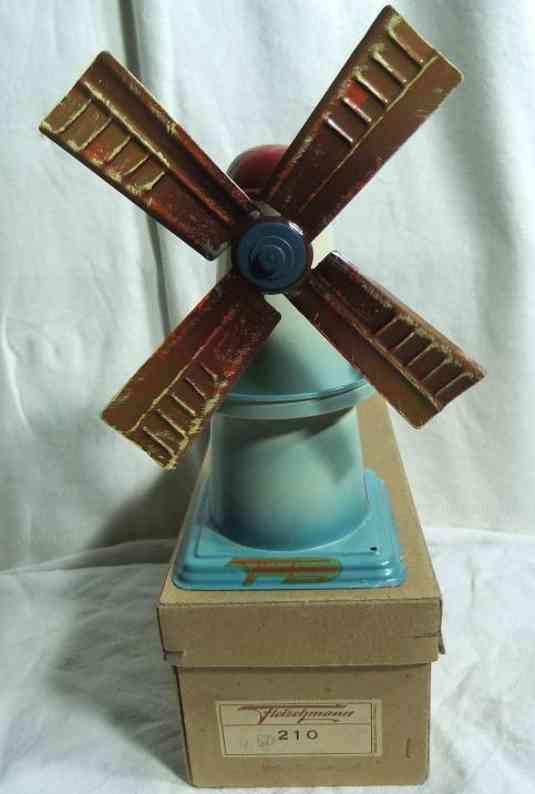 fleischmann 210 1956 dampfspielzeug antriebsmodell windmuehle