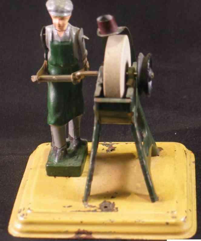 fleischmann 235 dampfspielzeug antriebsmodell fleischer am schleifstein