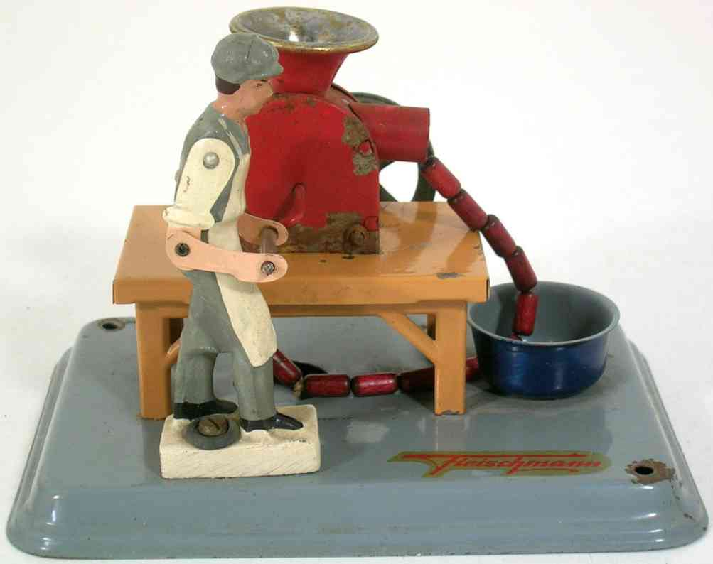 fleischmann 236 1956 steam toy drive model sausage maker