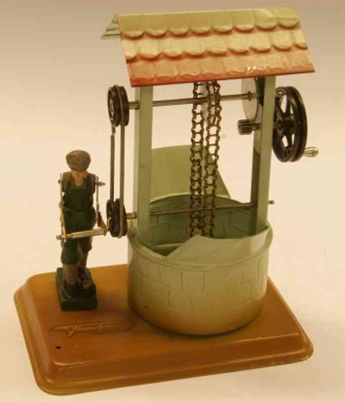 fleischmann 237 1954 dampfspielzeug antriebsmodell schoepfbrunnen figur