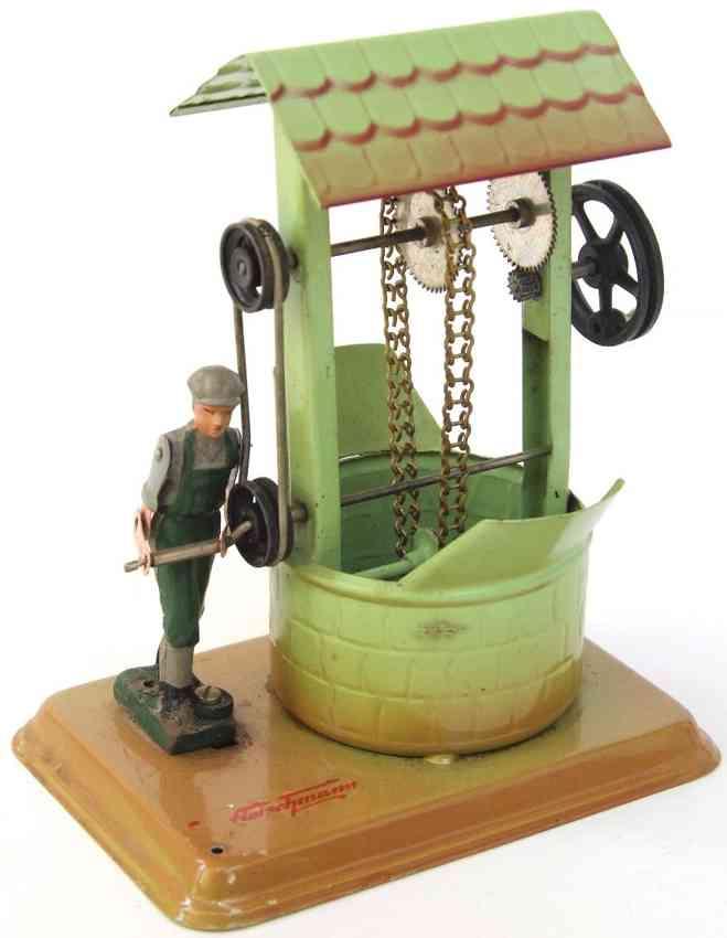 fleischmann 237 1962 dampfspielzeug antriebsmodell schoepfbrunnen figur