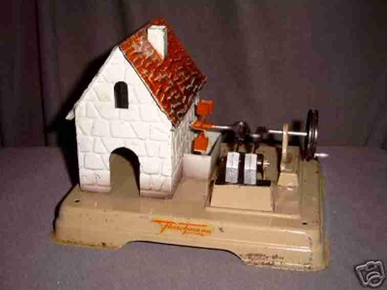 fleischmann 230 1956 dampfspielzeug antriebsmodell muehlhaus wasserrad