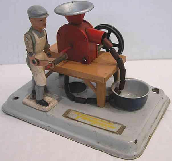 Fleischmann Antriebsmodelle Fleischer mit Wurstmaschine