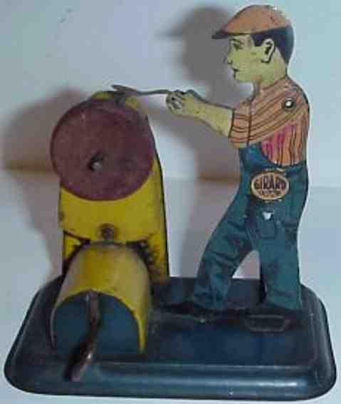 the girard model works 10 steam toy drive model mechanical grinder clockwork