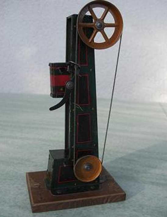 hess steam toy drive model drop hammer ram