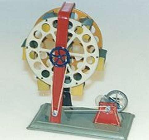 Hess Antriebsmodell Rad mit Uhrwerk