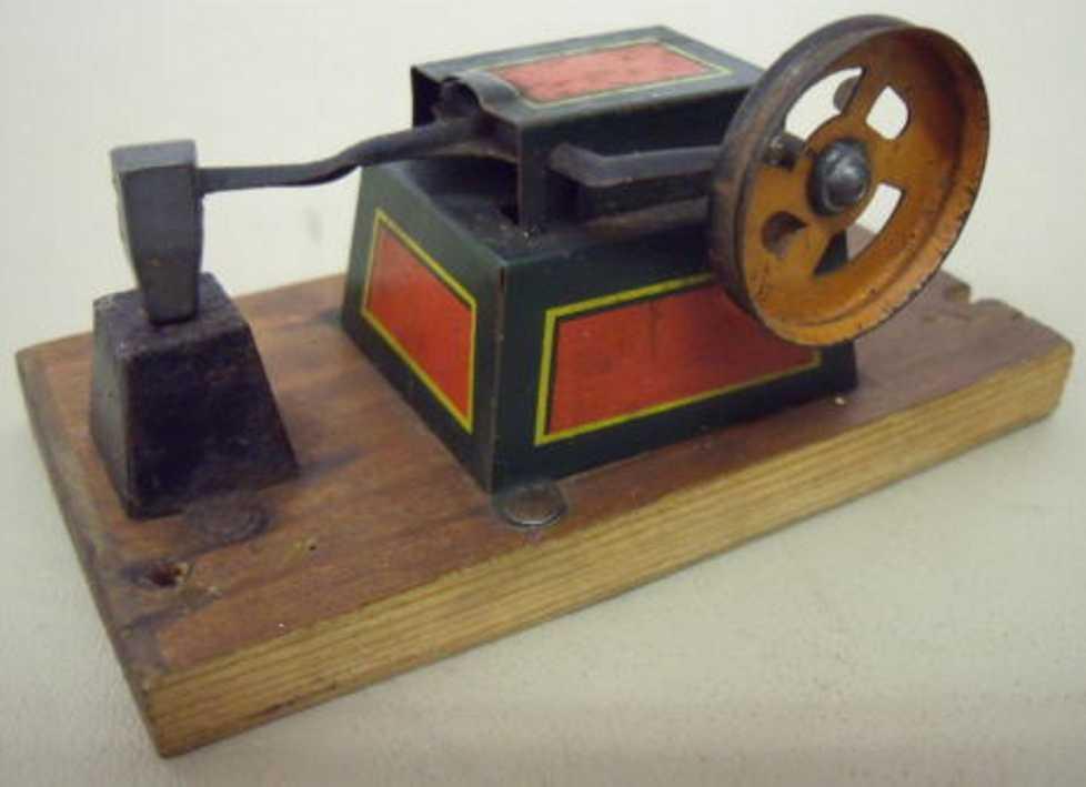 hess Hammerwerk dampfspielzeug antriebsmodell hammerwerk