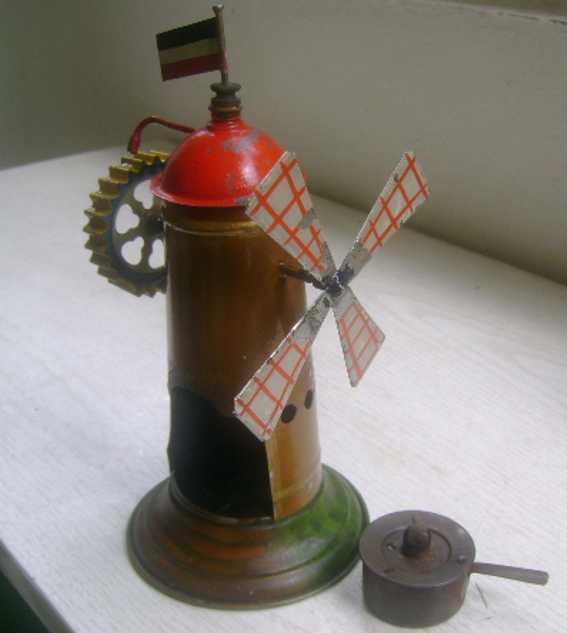 Hommola B. Antriebsmodell Mühle mit Dampfturbinenantrieb