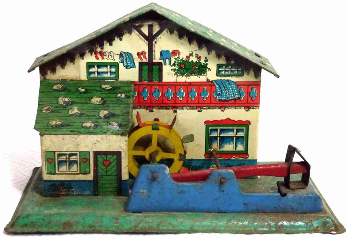 keim steam toy drive model watermill with hammer mill black forest house