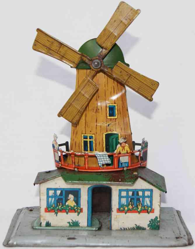 krauss wilhelm antriebsmodell hollaendische windmuehle frau maedchen