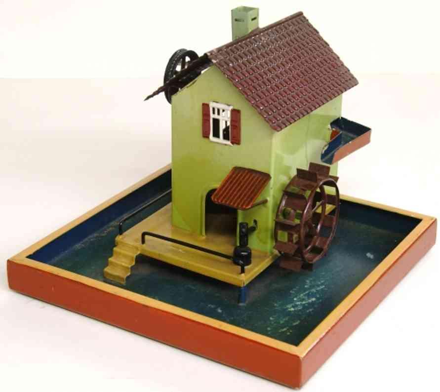 maerklin 4353 dampfspielzeug antriebsmodell bassin muhle wasserrad hammerwerk