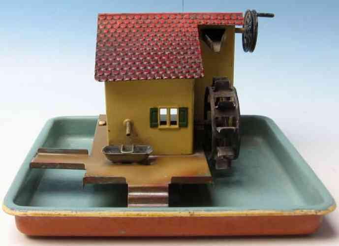 Märklin 4354 Antriebsmodell Ententeich mit Wasserrad und Brunnen