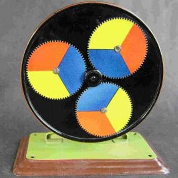 maerklin 4361 dampfspielzeug antriebsmodell farbenrad