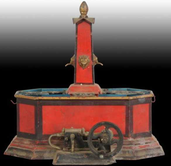 Maerklin Marklin Drive Model Ware fountain