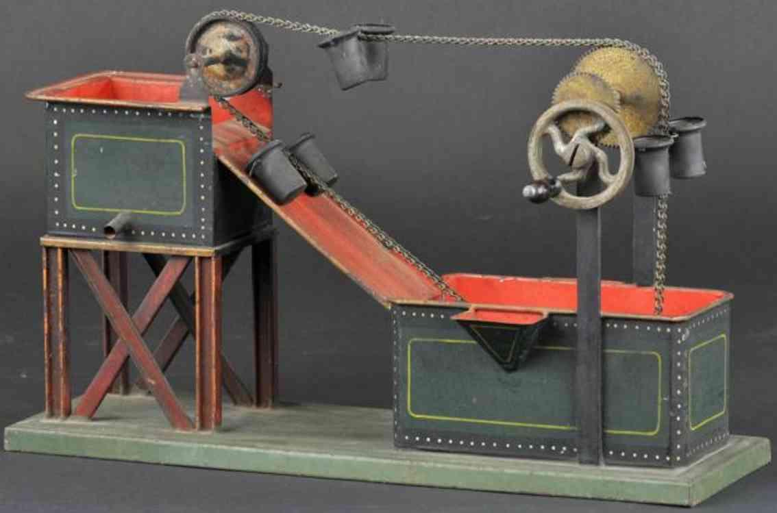 marklin toy drive model water tower conveyor steam engine