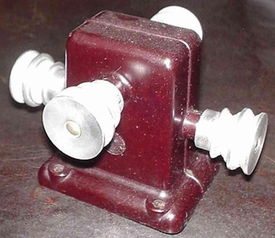 oesterwitz dampfspielzeug antriebsmodell winkeltransmission aus bakelit. gesamtbreite 9,5 cm