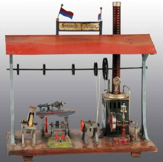 plank ernst 120/1 dampfspielzeug antriebsmodell dampmaschinen werkstatt