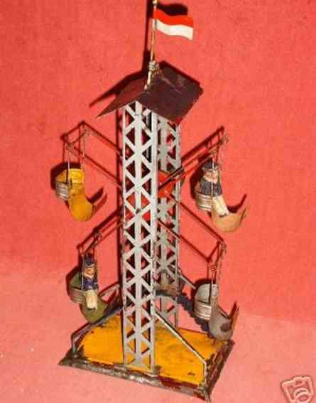 Plank Ernst 1033/3 Antriebsmodell Russische Schaukel mit Fahne