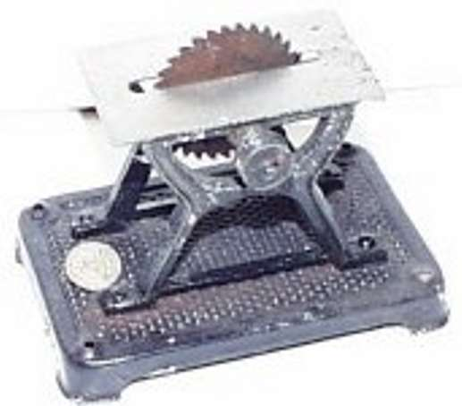 Plank Ernst 1001/1 Antriebsmodell Tischsäge