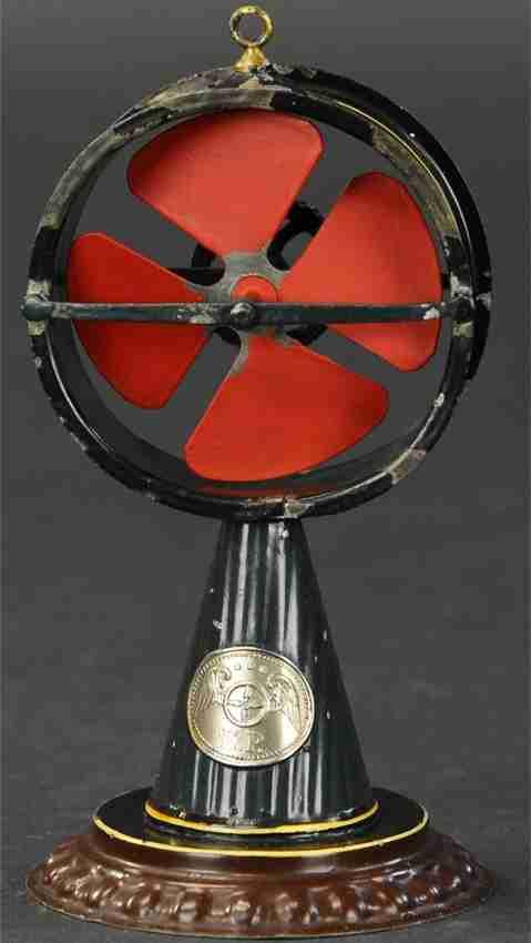 plank ernst dampfspielzeug antriebsmodell dampfbetriebene luefterturbine ventilator