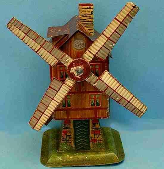 Plank Ernst 1016/2 Antriebsmodell Windmühle handlackiert