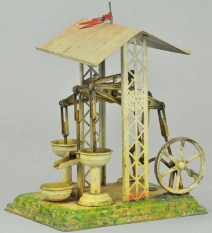 plank ernst 1045/2 dampfspielzeug antriebsmodell pumpwerk