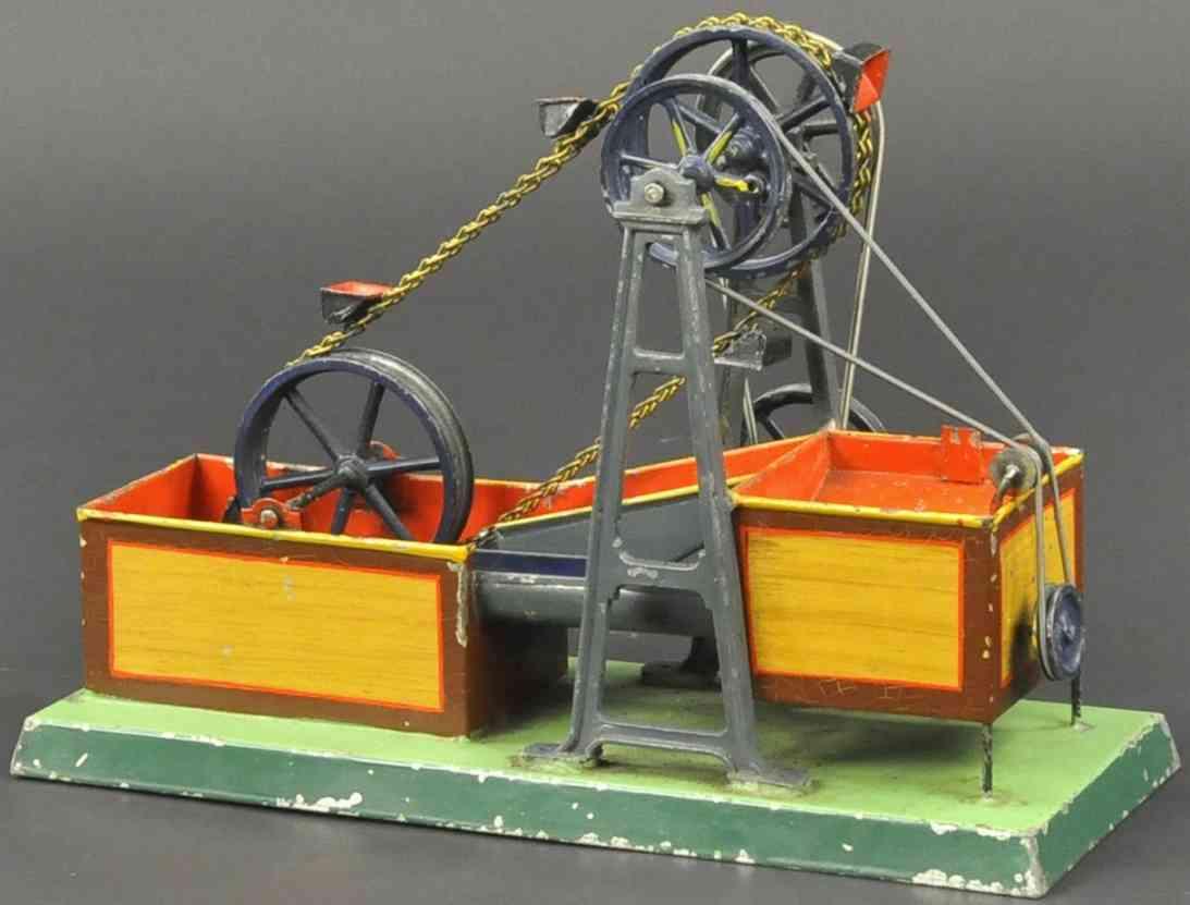 plank ernst dampfspielzeug antriebsmodell schoepfwerk eimer kette