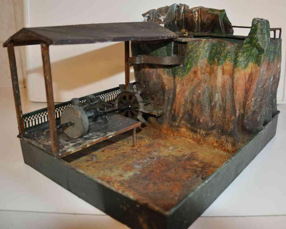 rock & graner dampfspielzeug antriebsmodell hammerwerk am berg
