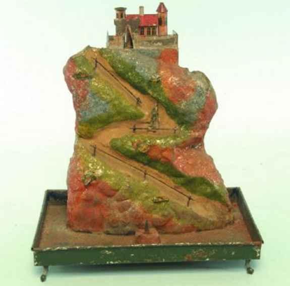 Rock & Graner Antriebsmodell Landschaft mit Wasserfall