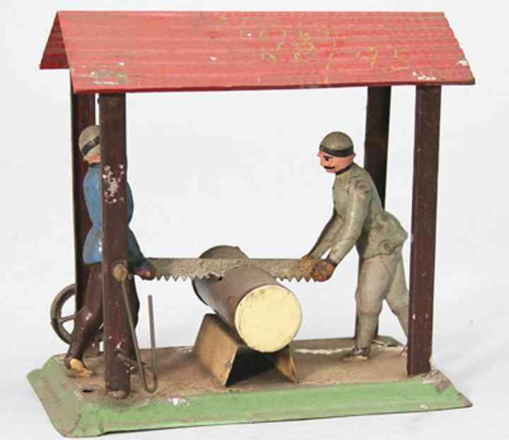 Antriebsmodell 2 Waldarbeiter