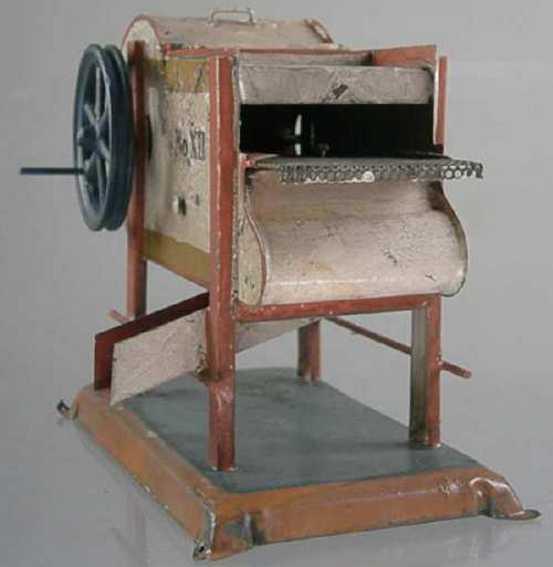 Antriebsmodell Getreideputzmaschine mit Schüttelsieb