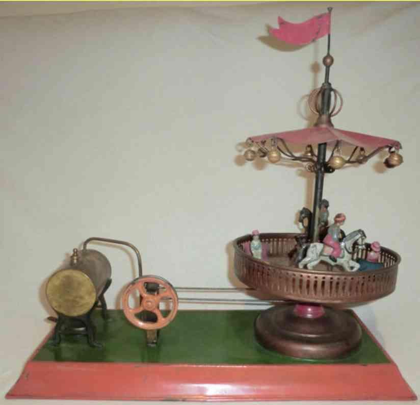 Antriebsmodelle Dampfmaschine mit Karussell