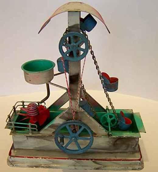 Antriebsmodell Schöpfwerk