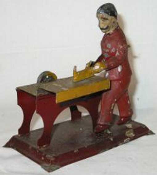 Antriebsmodell Tischler mit Hobel
