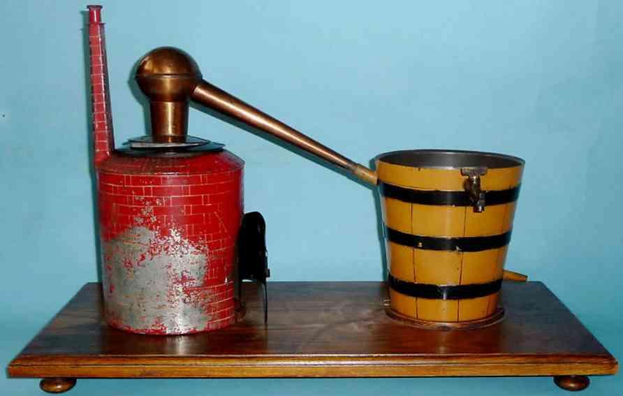 Drive Model Distillery apparatus for wine or branedy distillation bucket