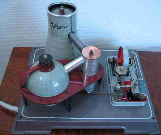 wilesco dampfspielzeug antriebsmodell atormkraftwerk