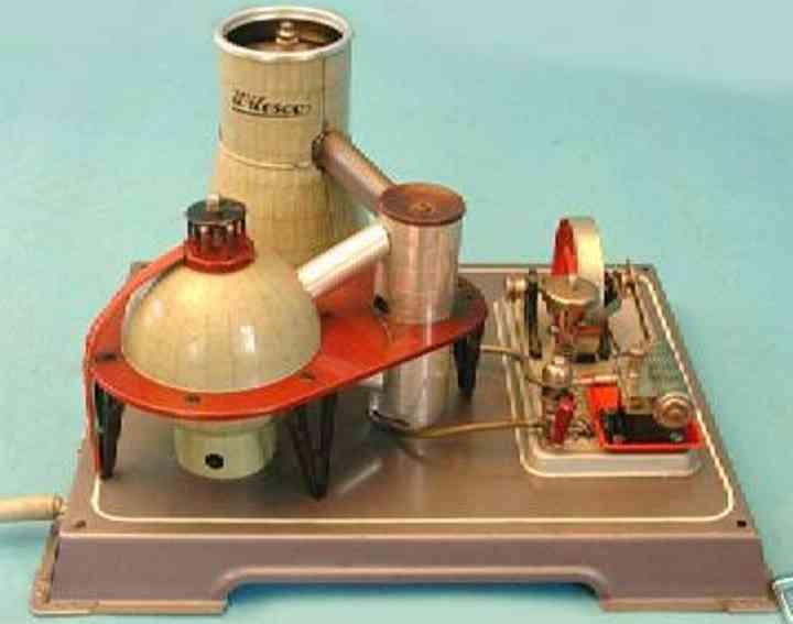 Wilesco Antriebsmodell Atomkraftwerk