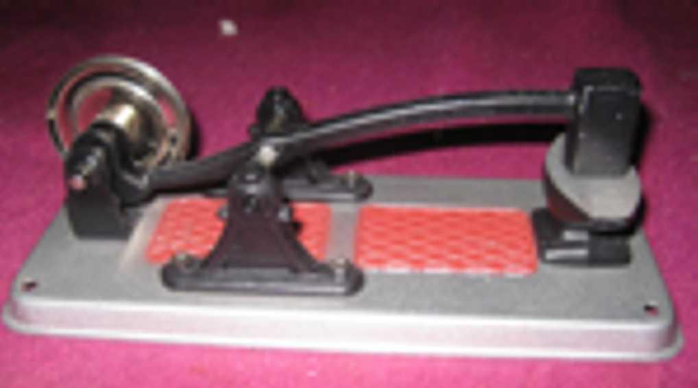 wilesco m58 dampfspielzeug antriebsmodell schmiedehammer