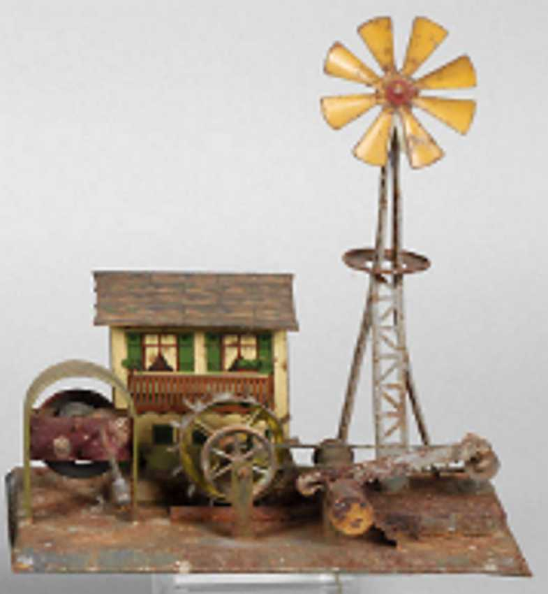 wunderlich primus steam toy drive model mill house pinwheel saw