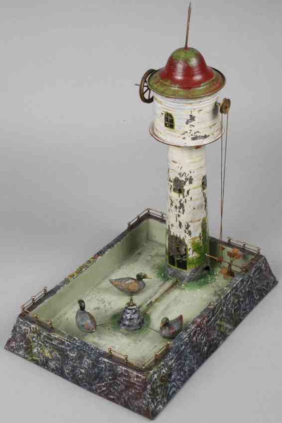 wunderlich steam toy drive model water tower with reservoir