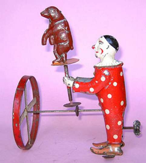 Zschopau-Schule Antriebsmodell Clown mit Bär