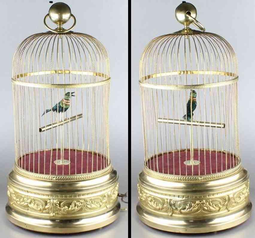 Bontems Charles Automat Singvogel im Käfig