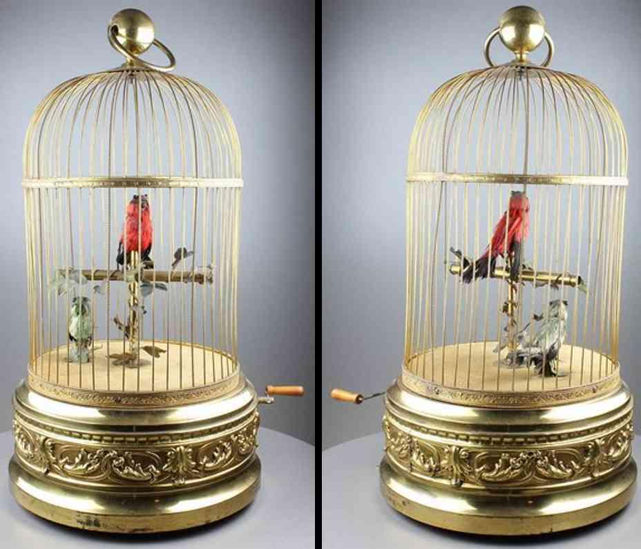 Bontems Charles 5516355 Zwei Singvögel im Käfig